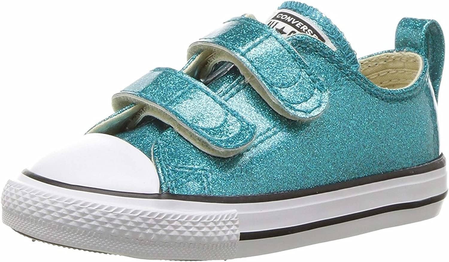 Converse Unisex-Child Chuck Taylor All Star All items in the store Glitter Low 2v S New life Top