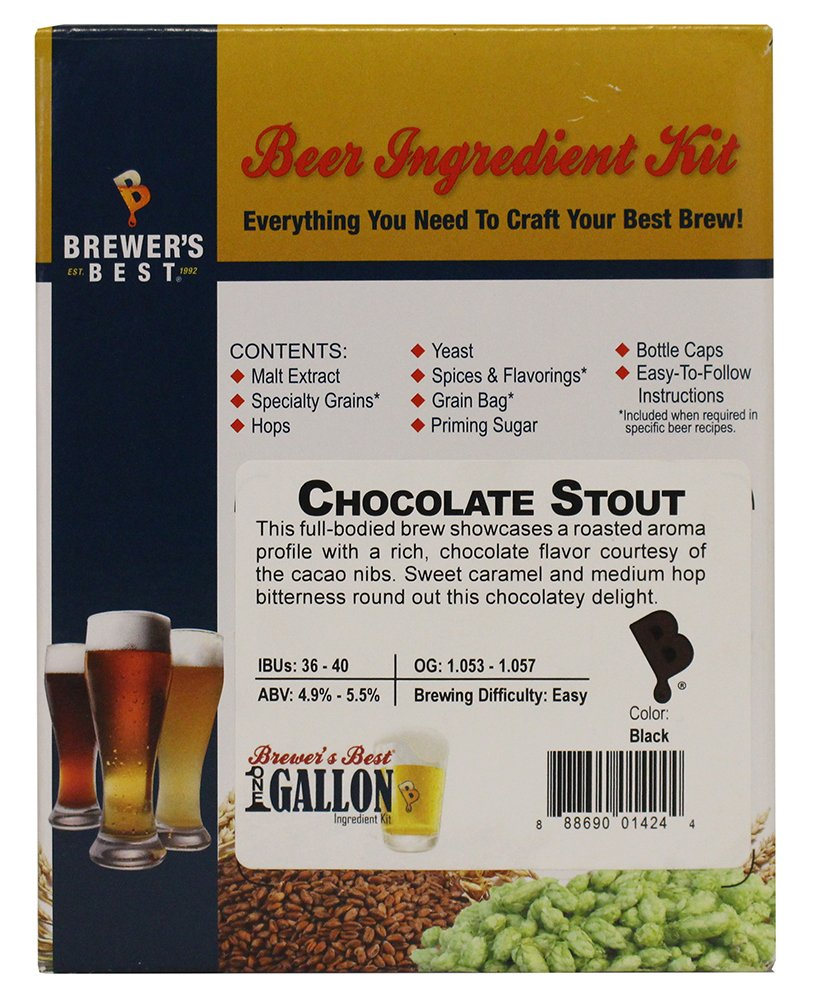 Ultra-Cheap Deals Brewer's Best One Gallon Home Kit Chocolat Ingredient OFFicial site Beer Brew
