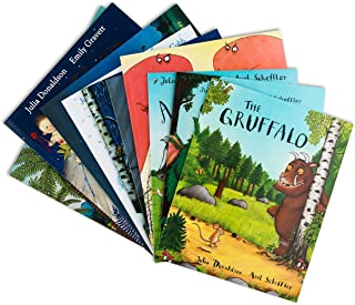 Julia Donaldson X 10 Book Set Collection Pack Includes Room On The Broom