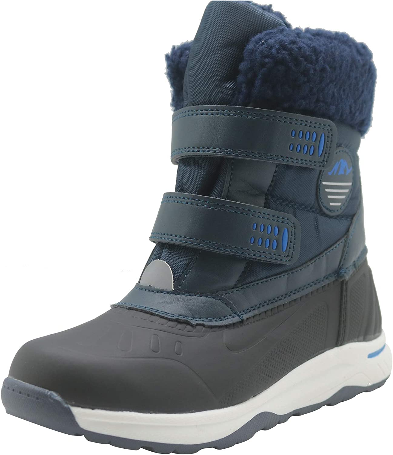 Opening large release sale Ahannie Boys Girls Frosty Winter Boot Toddler Kids Little Gorgeous Snow