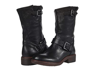 Cordani Pike (Black Leather) Women