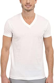 Kirkland Signature Men's 100% Pima Cotton 4-Pack V-Neck T-Shirts