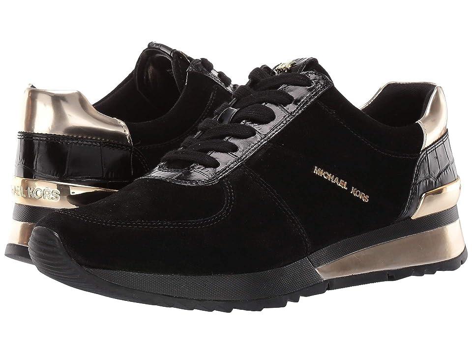 MICHAEL Michael Kors Allie Wrap Trainer (Black/Gold) Women