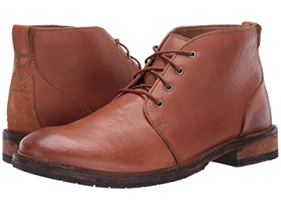Clarks Clarkdale Base (Dark Tan Leather) Men