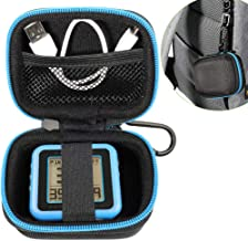 WGear Golf GPS Case Compatible with Bullshnell Phontom Golf GPS, Neo Ghost Golf GPS, Garmin 010-01959-00 Approach G10, and Other Handheld Golf GPS, mesh Pocket and Detachable Wrist Strap