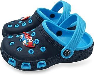 Namektch Toddler Little Kids Clogs Slippers Sandals, Non-Slip Girls Boys Slide Lightweight Garden Slip-on Shoes Beach Pool Shower Slippers