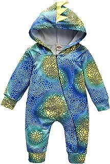 Baby Dinosaur Onesie, Newborn Toddler Baby Dinosaur Costumes Long Sleeve Romper Jumpsuit Outfit Set