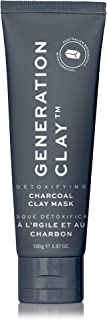 Generation Clay Charcoal Mask [Activated Charcoal] - Detoxifying Australian Clay Mask - Natural, Deep Cleans Skin - SUPER SIZE Tube 100gr. / 3.97oz.