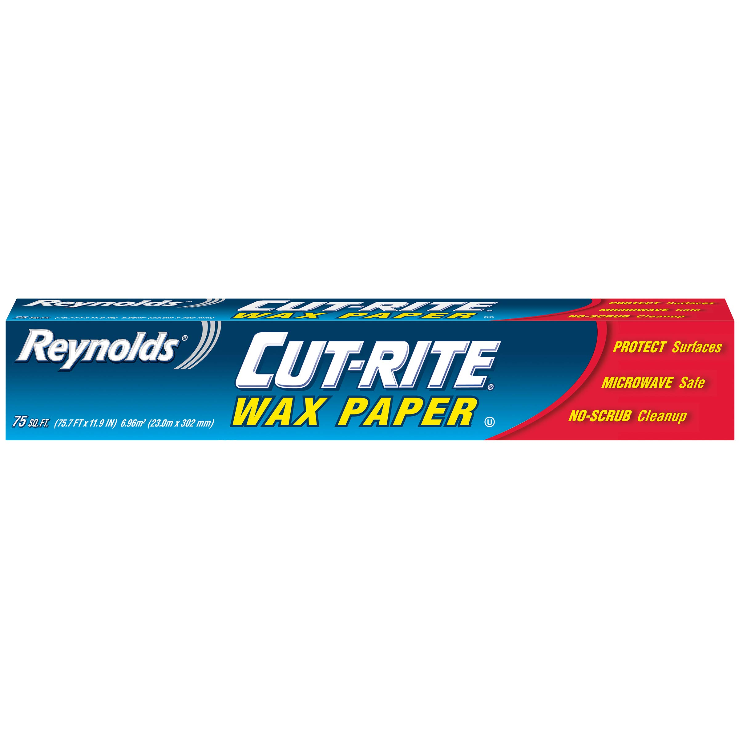 Reynolds Cut Rite Wax Paper 75 Square Feet Amazon Com Grocery Gourmet Food