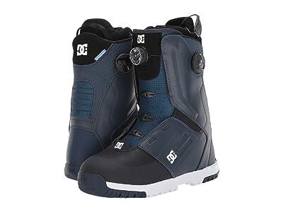 DC Control Dual BOA(r) Snowboard Boots (Dark Blue) Men