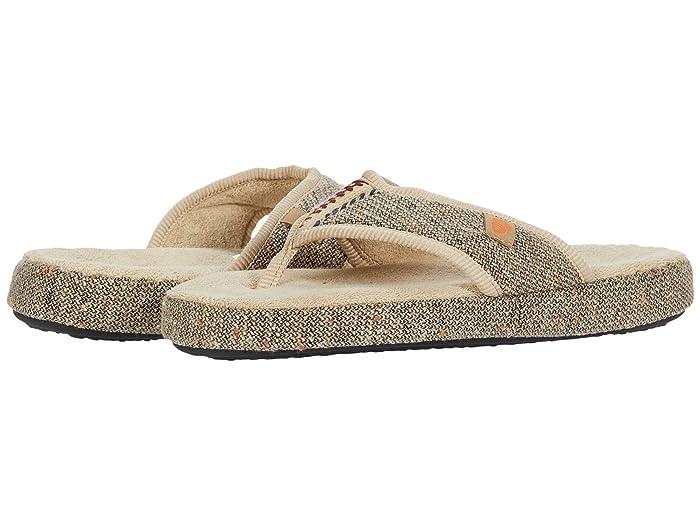 Acorn  Bristol Thong (Pebble) Womens Shoes