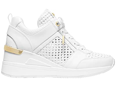 MICHAEL Michael Kors Georgie Trainer (Optic White) Women