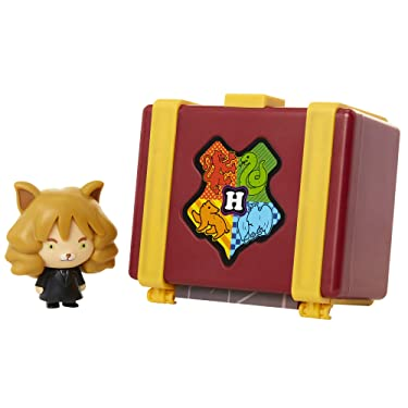 """HARRY POTTER Charms Hermione Granger Collectible 2"""" Toy Figure Playsets, Connect & Display to Create Memorable Scenes - 12 Different Figures to Collect!"""