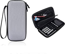 Eyglo Hard Case for Texas Instruments TI-84 Plus CE TI-83 Plus TI-89 Titanium HP 50G Graphing Calculators Storage Travel Pouch Box (Gray)