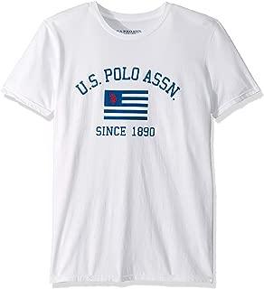 U.S. Polo Assn. Mens 11-4493-04 Short Sleeve Crew Neck Fashion T-Shirt Short Sleeve T-Shirt