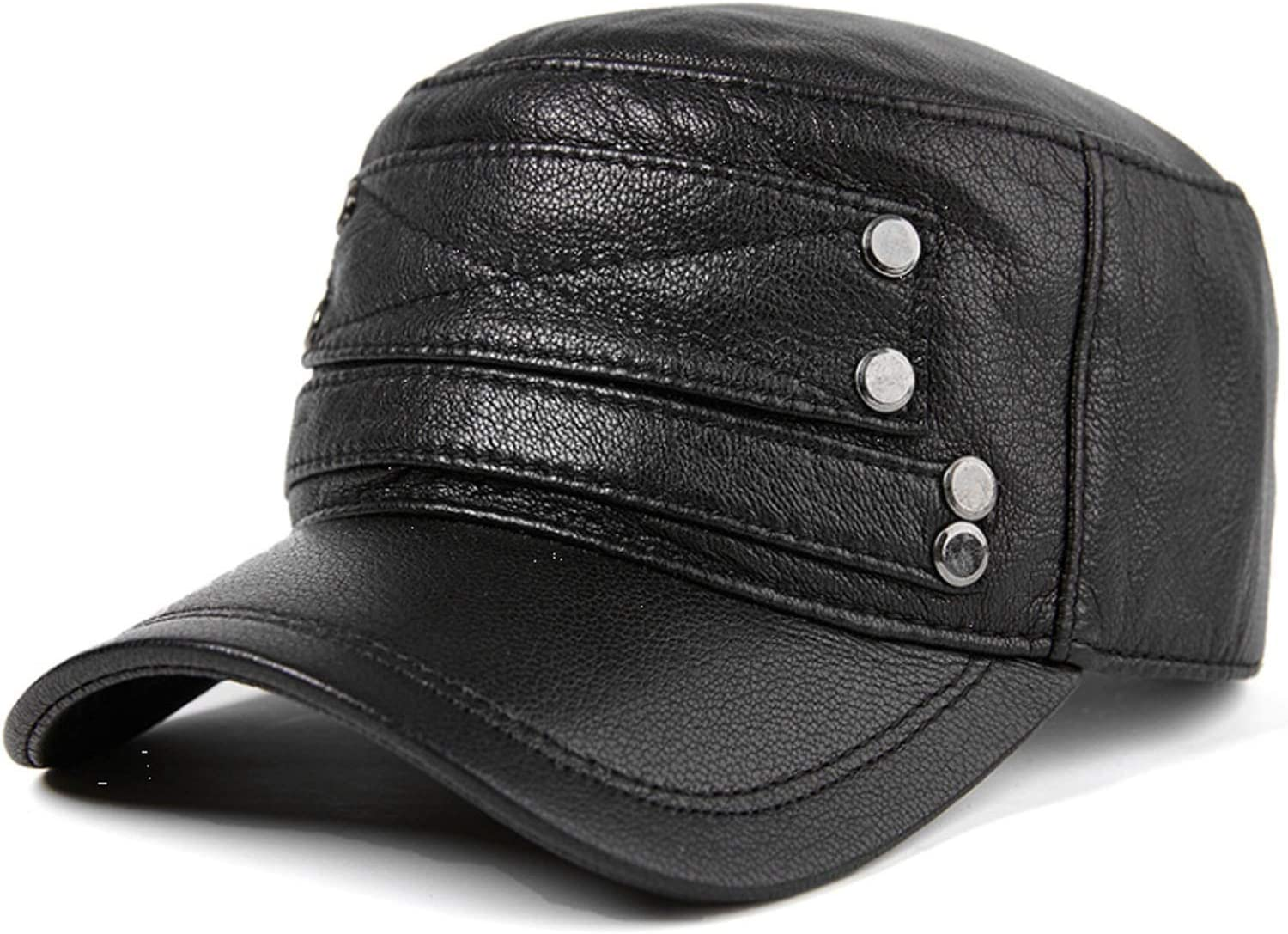 Men Hat single Wholesale layer thin section autumn winter leather men Max 59% OFF and
