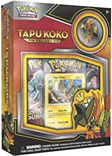 Pokemon TCG Tapu Koko Pin Collection Card Game