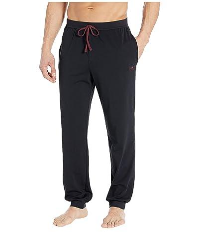 BOSS Hugo Boss Stretch Cotton Lounge Pants (Black 1) Men