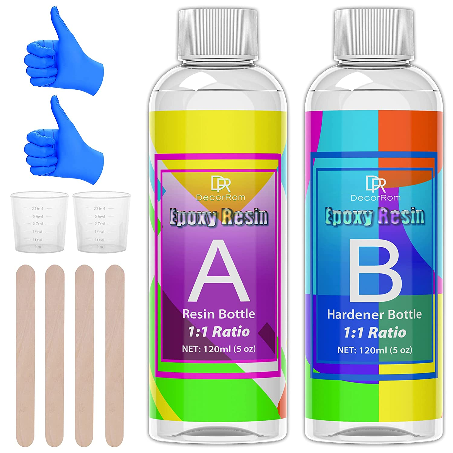Epoxy Resin Kit - 10oz Casting Ranking TOP19 Clear and for Crystal Max 72% OFF