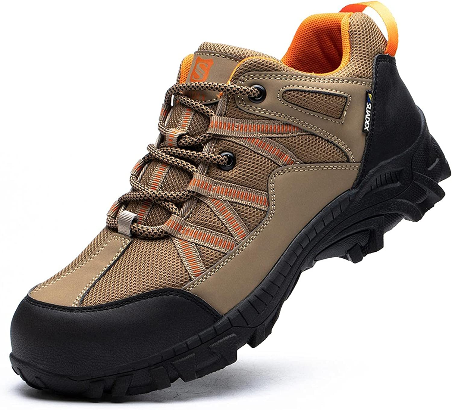 SUADEX Indestructible Steel Toe Shoes for Men Bombing free Popular popular shipping Women Construction