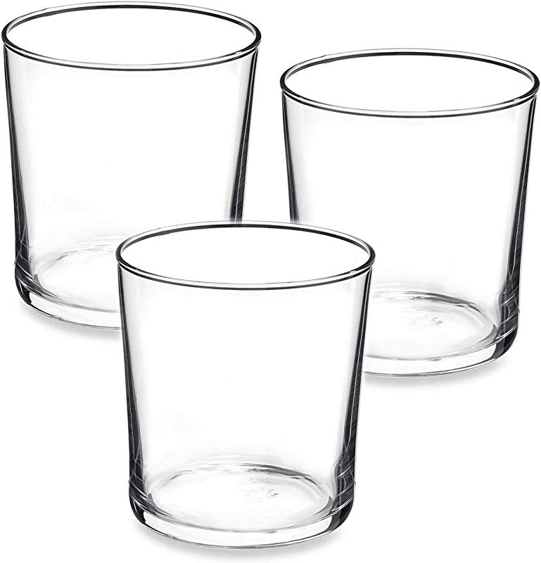 Bormioli Rocco Bodega Collection Glassware Set Of 12 Medium 12 Ounce Drinking Glasses For Water Beverages Cocktails 12oz Clear Tempered Glass Tumblers