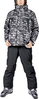 VAXPOT(バックスポット) スキーウェア 上下セット メンズ 【耐水圧5000mm 透湿3000g 撥水加工】 VA-2016 PT-MON/BLK S(男性用S)