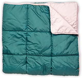 Leisure Co Ultra-Portable Outdoor Camping Blanket - Windproof, Warm, Lightweight and Compact Packable Blanket - Perfect for Camp Trips, Stadium Games, Travel and Picnics