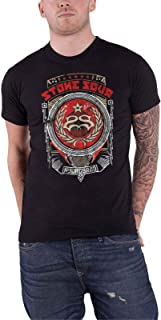 Stone Sour T Shirt Hydrograd Band Logo Official Mens Black