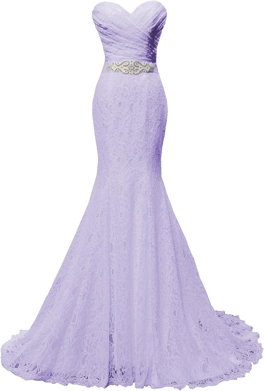 SOLOVEDRESS Women's Beaded Pleat Lace Dress Max 45% OFF Mesa Mall Mermaid Wedding Brid