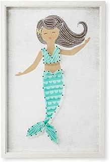 Mermaid Framed String Art (12