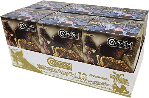 mejor opcion Capcom Figure Figure Figure Builder Monster Hunter Standard Model Plus Vol.13 (6 Figuras)  precio al por mayor