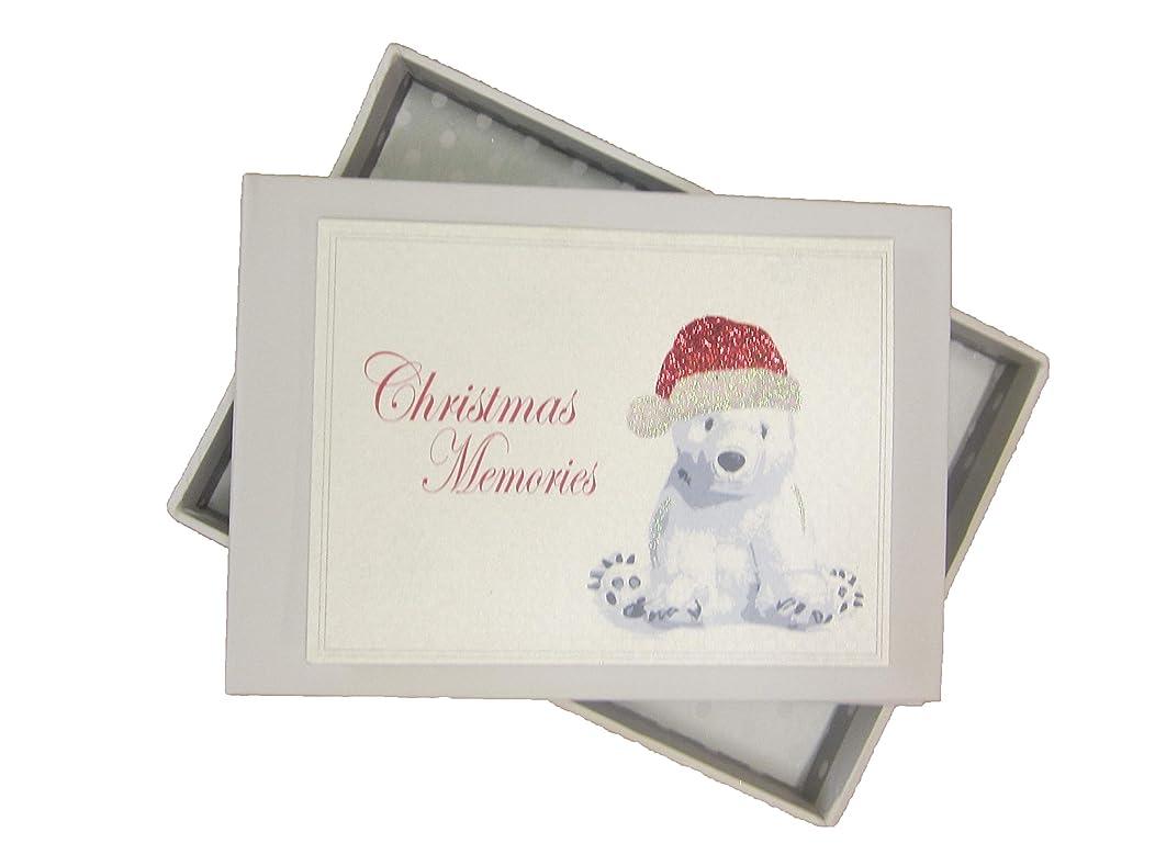 white cotton cards XPM1T Christmas Memories Cute Polar Bear Photo Album