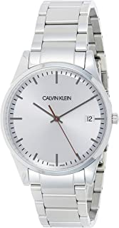 Calvin Klein Men's Quartz Watch, Analog Display and Stainless Steel Strap K4N2114Y