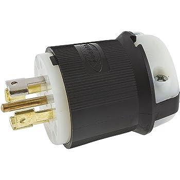 Lot of 3 Hubbell 231A Twist-Lock Turn /& Pull Plugs 20A 125//250VAC Male