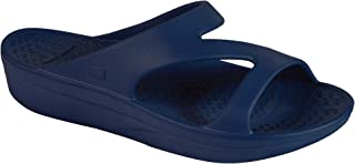 Women's Z-Strap Sandal - Comfort Slides with Orthotic Grade Arch Support