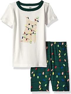 Baby Boys 2-Piece Tight Fit Sleeve Short Bottoms Pajama Set