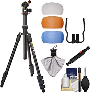 3 Legged Thing Punks Patti 64-inch Magnesium Tripod with AirHed Mini (Matte Black) with Filters + Cleaning Kit