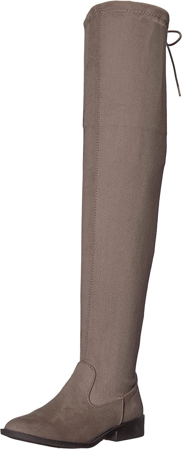 Qupid Womens VINCI-49XX Over The Knee Boot