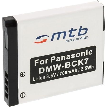 Ersatz Akku Dmw Bck7 Kompatibel Mit Panasonic Lumix Kamera