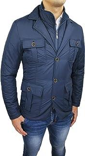 newest 1ce72 3b574 Amazon.it: Vanzeer - Giacche e cappotti / Uomo: Abbigliamento