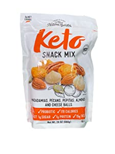 Snack Foods Nature's Garden Keto Mix, Cheese, 24 Oz