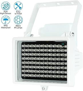 KKmoon Lámparas infrarrojas de 96 LED impermeable al aire l