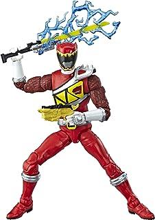 Power Rangers Red Ranger miniature toy figures, Standard, Brown