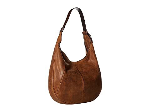 Frye Jacqui Hobo Brown Smooth Pull-Up Fake Online loaBRe6