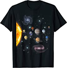 Solar System T Shirt - Awesome Gift Tshirt For Space Geeks
