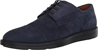 Driver Club USA Men's Leather Made in Brazil Eva Lightweight Oxford with Captoe Detail