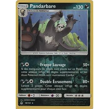 Pok/émon SL6 Carte Pandarbare 78//131 Rare