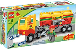 LEGO Duplo Ville Series # 5605 : Tanker Truck Set with Driver Minifigure