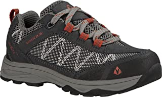 Vasque Kid's Monolith Low UltraDry Hiking Shoes Magnet / White 12 M