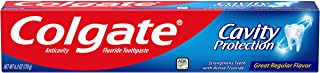 Colgate Cavity Protection Regular Fluoride Toothpaste, 6 oz